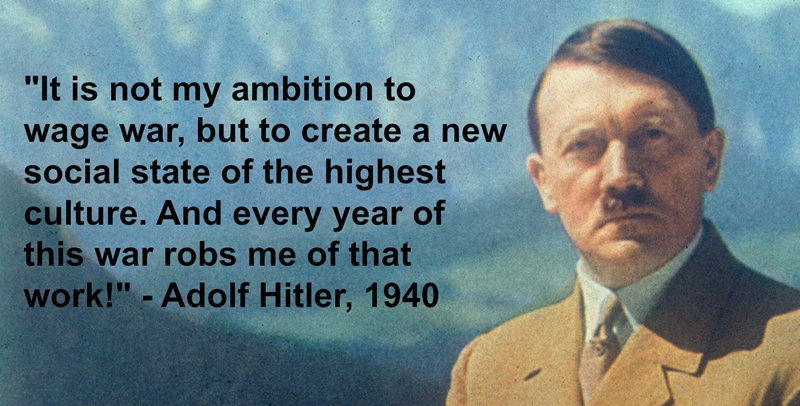 Exposing The Truth Quotes: Adolf Hitler & WW2 Truth