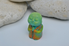 Anshin_green__-_sculpture_surreal_praying_meditating_monk_monks_statue_buddha_buddhist_spiritual_cute_colourful