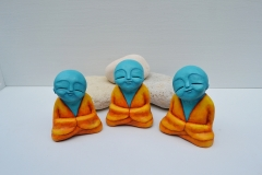 three_happy_monks_meditating_meditation_buddhist_sculpture_fun_statue_blue_orange_yellow_spiritual_surreal_2-c94