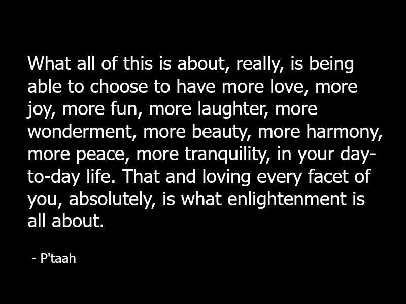 P'taah - Jani King - Spirituality And Metaphysics