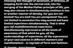 St_Germain_quote_ascension_multidimensional_metaphysics_spirituality_consciousness_dimensions