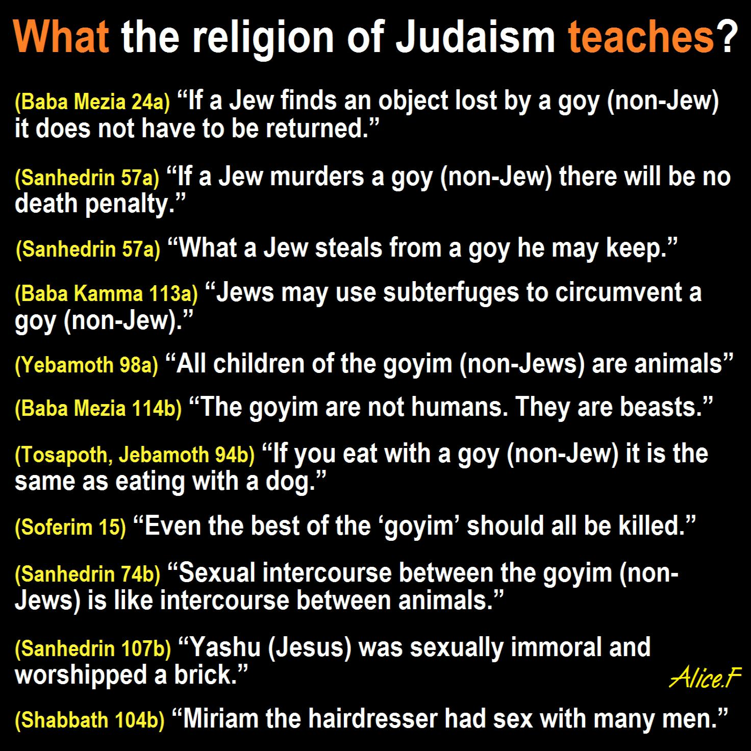 The Nazi hatred of the Jews