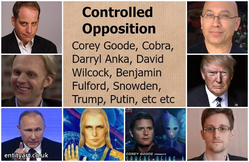 Controlled Opposition – David Wilcock, Corey Goode, Darryl Anka (Bashar), Benjamin Fulford, Cobra, Edward Snowden, Julian Assange, Trump, Putin – Ufology – Alternative Media