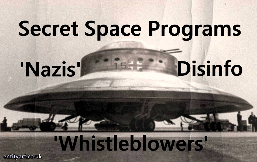 'Nazis' – Secret Space Programs – 'Dark Fleet' – Disinfo – Breakaway Civilizations – Hitler – Germany – Corey Goode – William Tompkins – Randy Cramer – Ahlex – Milabs