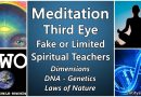 Meditation – Third Eye – Fake or Limited Spiritual Teachers – Dimensions, DNA, Genetics, Nature