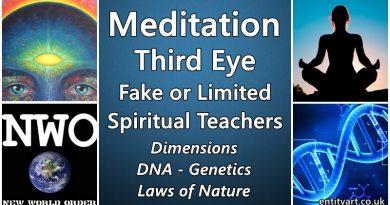 Meditation – Fake or Limited Spiritual Teachers – Third Eye – Dimensions, DNA, Genetics, Nature