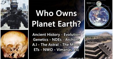 Who Owns Planet Earth? (An exploration) – Ancient History – The Moon – After Life – A.I – NDEs – Genetics – Evolution – NWO – ETs – Dimensions – Metaphysics