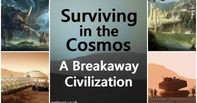 Surviving in the Cosmos – A Breakaway Civilization – Inc. Morality, Emotions, Nature & Diet