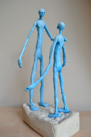 guidance - surreal figurative sculpture
